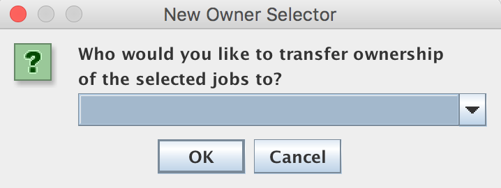 New Owner Selector Window