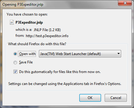 The FireFox browser Open File window